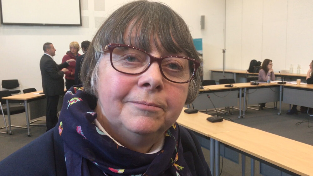 NTCA Cabinet Member for Employability and Inclusion and Deputy Leader of Newcastle City Council Cllr Joyce McCarty